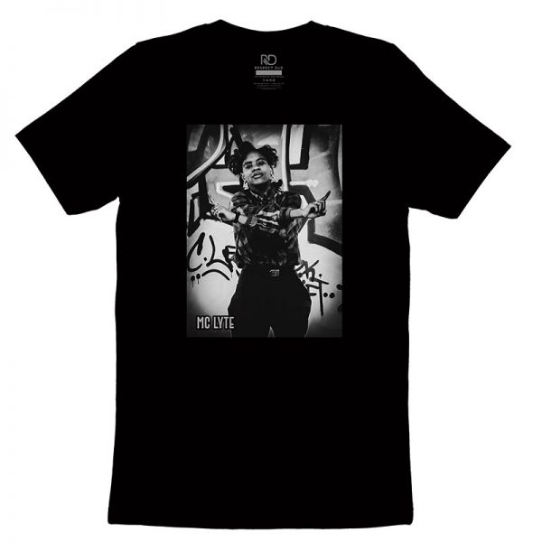MC Lyte Black T shirt