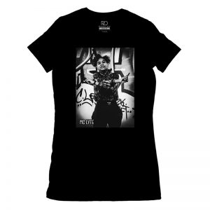 MC Lyte Black T shirt Womans