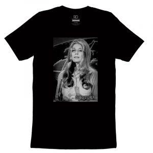 Gloria Steinem Black T shirt