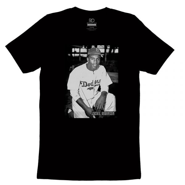 Jackie Robinson Black T shirt 2