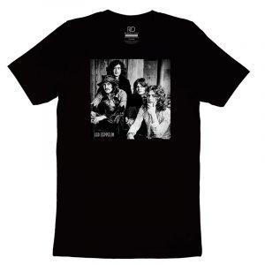 Led Zepplin Black T shirt