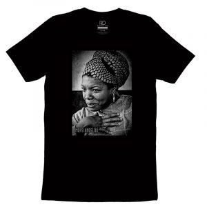 Maya Angelo Black T shirt 2
