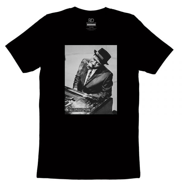 Thelonious Monk Black T shirt