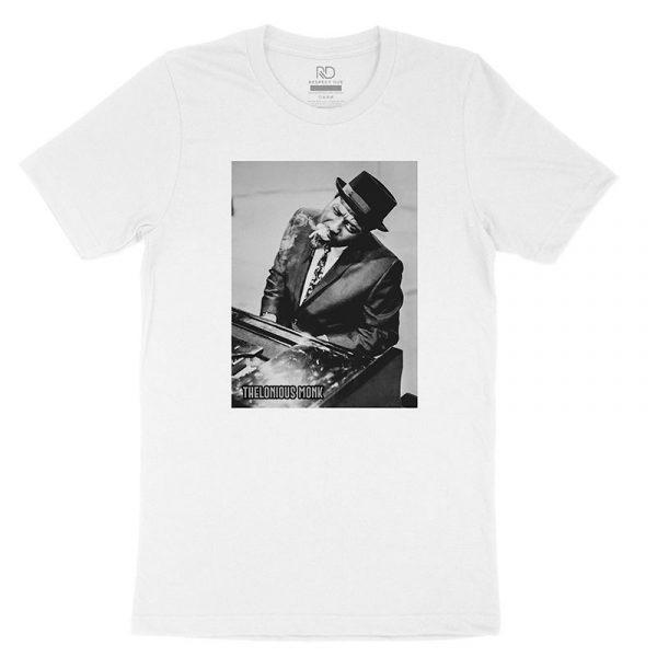 Thelonious Monk White T shirt