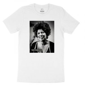 Toni Morrison White T shirt 1