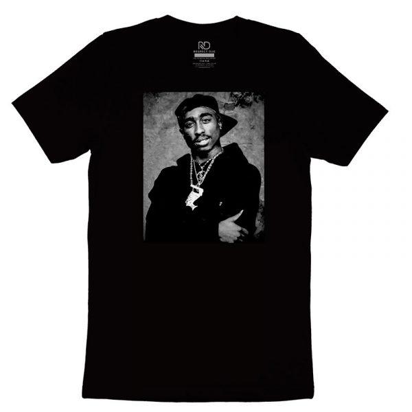 Tupac Shakur Black T shirt