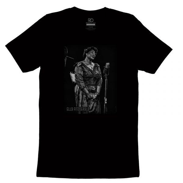 Ella Fitzgerald Black T shirt