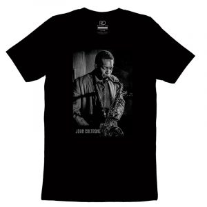 John Coltrane Black T shirt