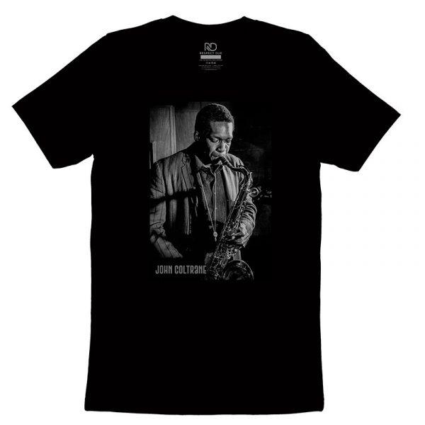 John Coltrane Black T shirt