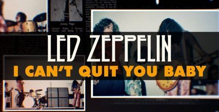 Led Zeppelin I Cant Quit You Baby Official Audio