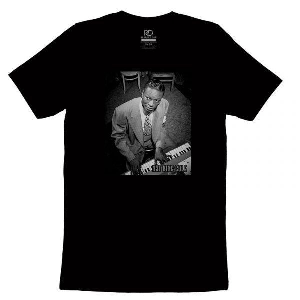 Nat King Cole Black T shirt