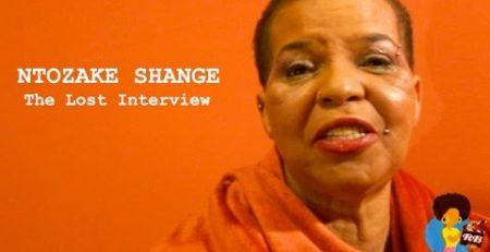 Ntozake Shange The Lost Interview