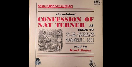 The Confession of Nat Turner Read by Brock Peters