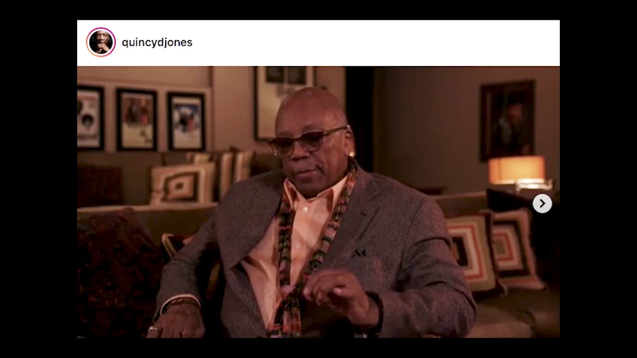 Quincy Jones 86th Birthday Prayer 2019