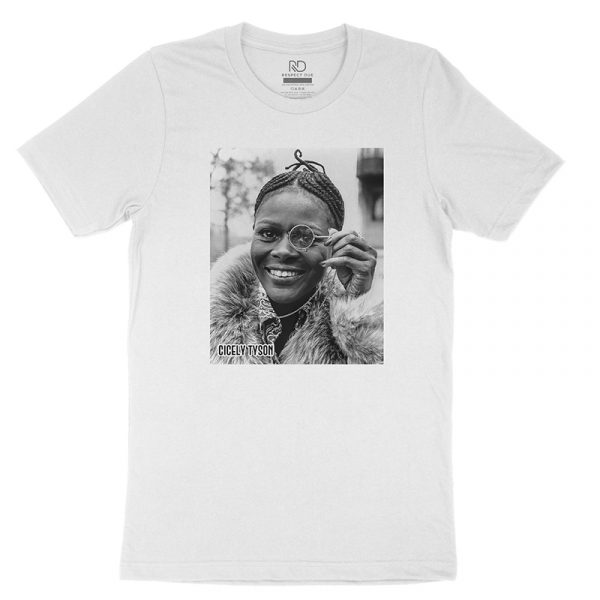 Cicely Tyson White T shirt