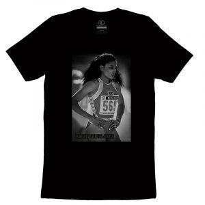 Florence Griffith Joyner Black T shirt