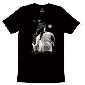 Teddy Pendergrass Black T shirt