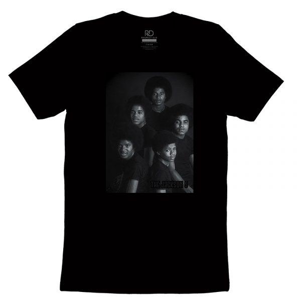 The Jackson 5 Black T shirt