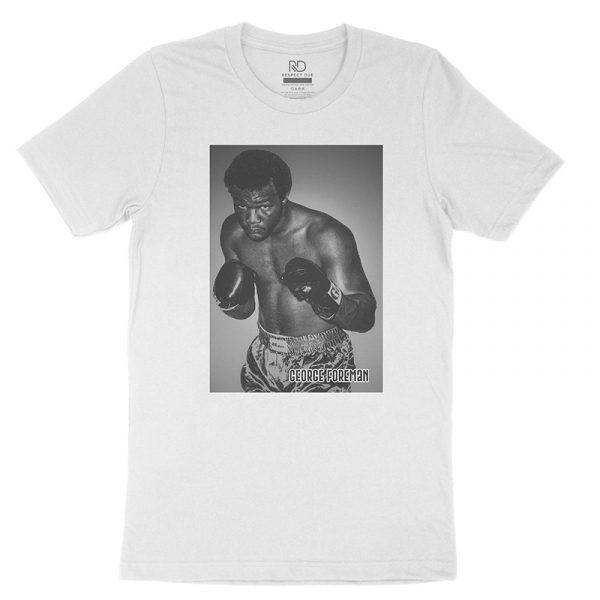 George Foreman White T shirt