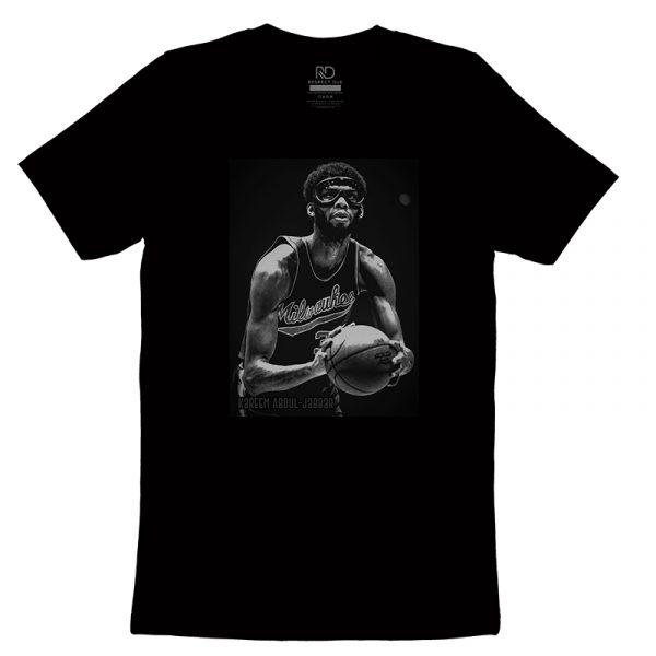 Kareem Abdul Jabbar Black T shirt