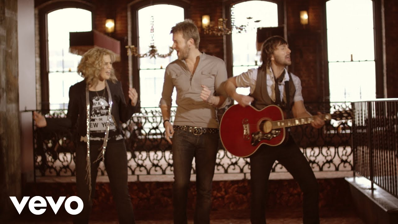 Lady Antebellum I Run To You Official Music Video