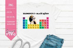 Elements of a Black Queen Mockup3 1