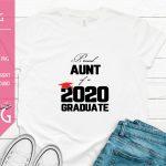 Proud Aunt of a 2020 Graduate Mockup