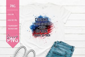 Distance Means So Little Mockup 1500