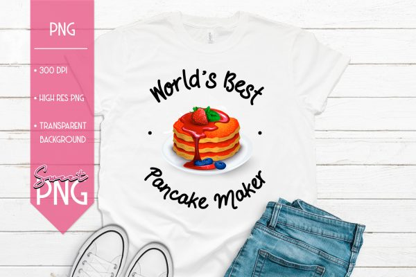 Worlds Best Pancake Maker Mockup 1500