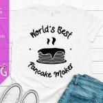 Worlds Best Pancake Maker Mockup SVG 1500