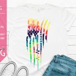 Americas Nurse Tie Dye Mockup Distressed 1500