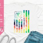 Americas Respiratory Therapist Tie Dye Distressed Flag Mockup Light 1500