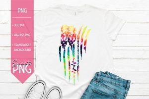 Americas Respiratory Therapist Tie Dye Mockup Distressed 1500