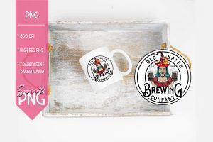 Old Salem Brewing Company Sweet PNG Mockup