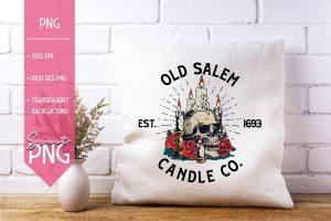 Old Salem Candle Co Sweet PNG Mockup2