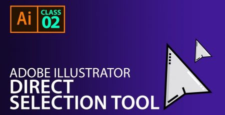 Adobe Illustrator - Class 2 - Direct Selection Tool, Fill and Stroke Colors in Hindi/Urdu