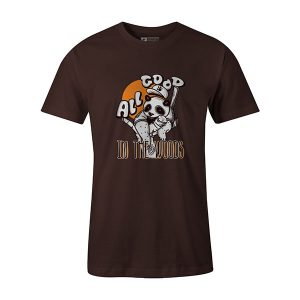 All Good in the Woods T shirts brown