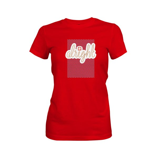 Alright T Shirt Red