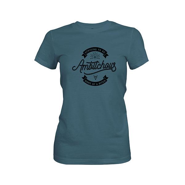 Ambitchous T shirt indigo