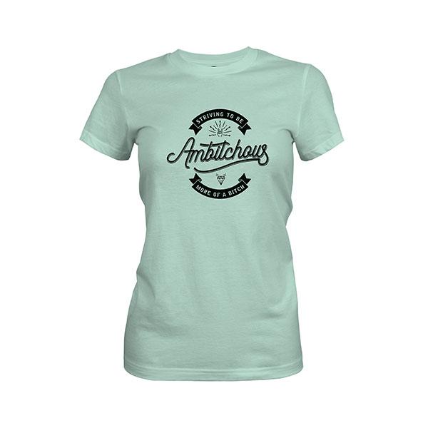 Ambitchous T shirt mint