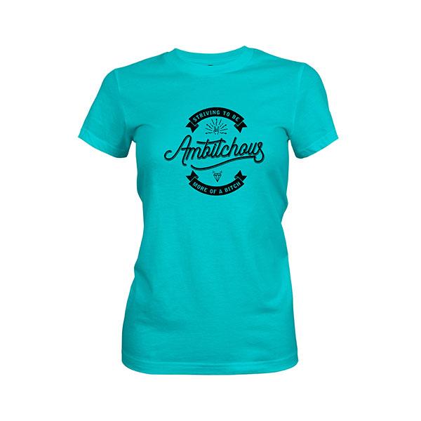Ambitchous T shirt tahiti blue
