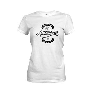 Ambitchous T shirt white