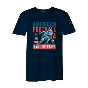 American Football T Shirt Navy