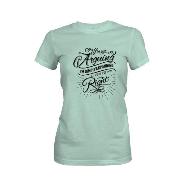 Arguing T shirt mint