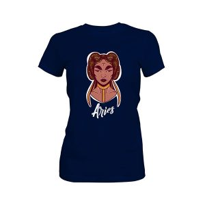 Aries T shirt midnight navy