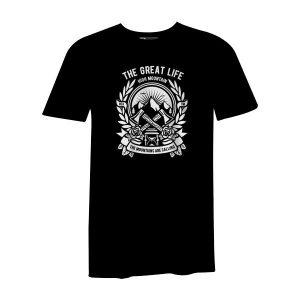 Axe T Shirt Black