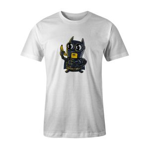 Bat Minion T Shirt White