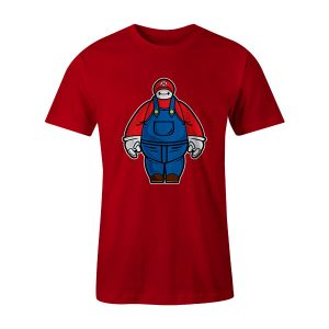 Baymario T Shirt Red