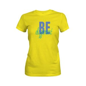 Be Different T Shirt Vibrant Yellow