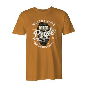Beard Pride T Shirt Ginger